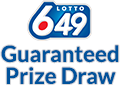 Lotto 6/49 Guaranteed Prize Draw